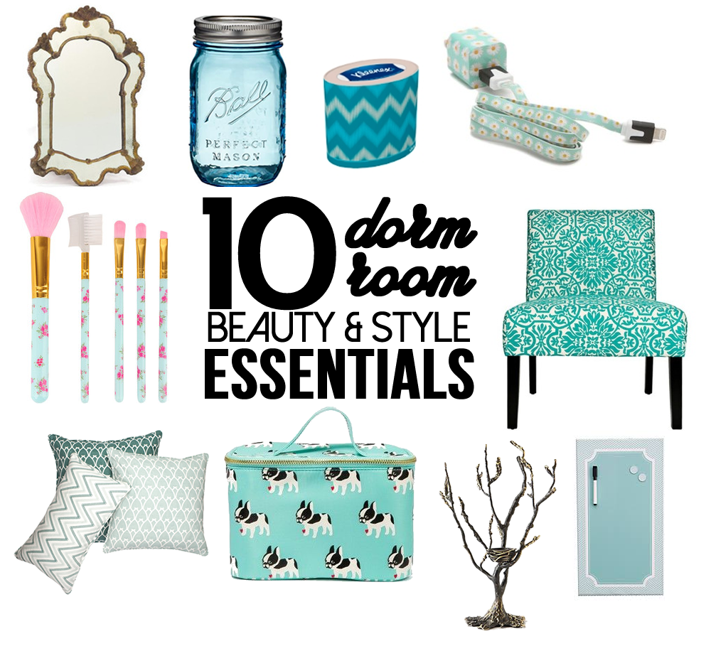 Top 10 Must-Haves For Your Dorm Room Collage