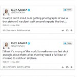 Iggy Azalea With No Makeup Tweets 1