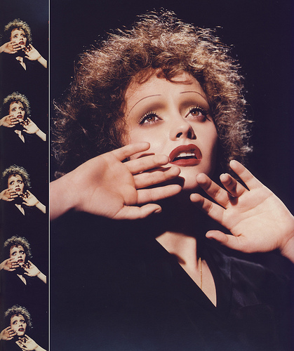 Christina Ricci as Edith Piaf Makeup Kevyn Aucoin