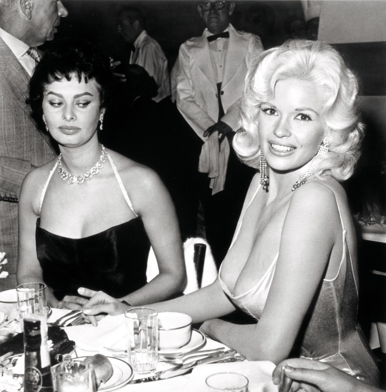 sophia loren Jayne mansfield Mad Side-Eye