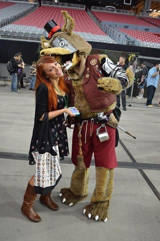 Fan Fest Five Nights at Freddy's Foxy Cosplay