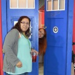 Fan Fest - The TARDIS French Doors Doctor Who