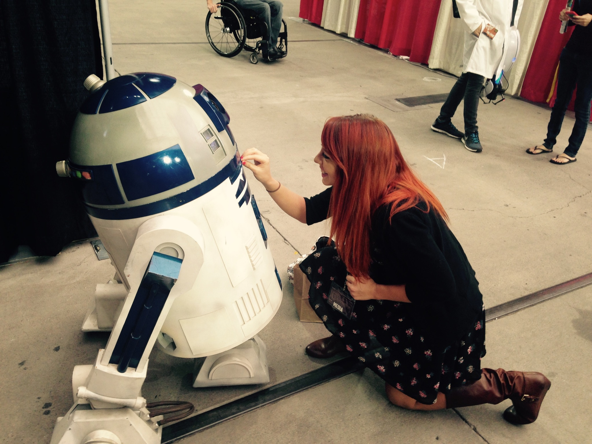 Fan Fest - Real Moving Remote Control R2-D2