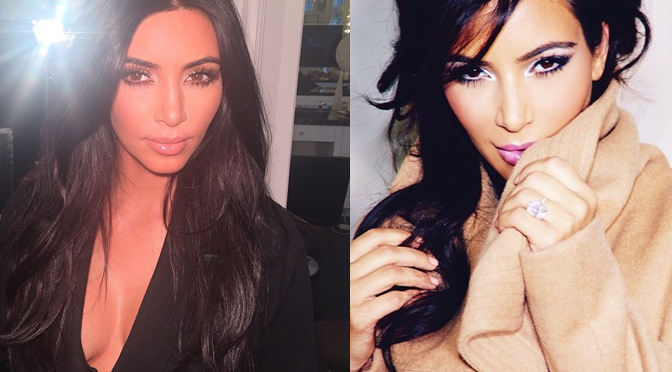 Kim Kardashian's Best Makeup Pics on Instagram