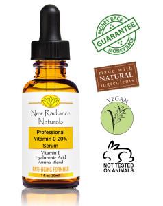 New radiance Naturals Vitamin C Serum Review 1