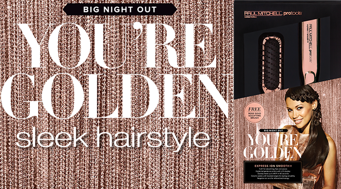 Sexy Sleek Hairstyle + Rose Gold Styling Tools #PMBigNightOut
