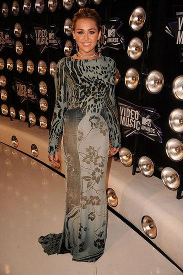 Miley Cyrus MTV VMA Awards 2011 Roberto Cavalli