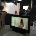 Cailin Filming Nexxus Review Video