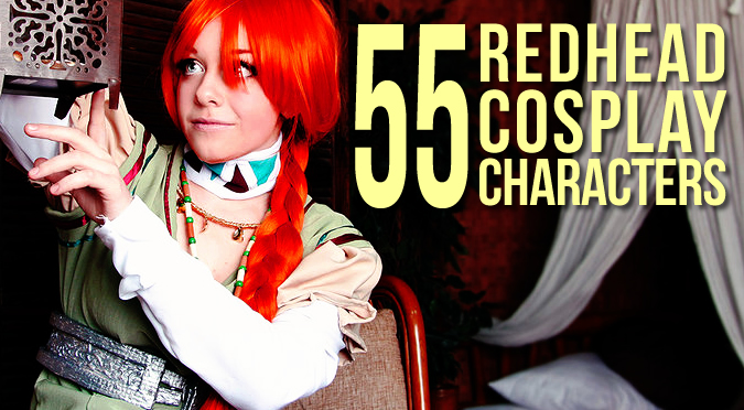 Redhead Cosplay Character Ideas 55 Of Them Sassy Dove