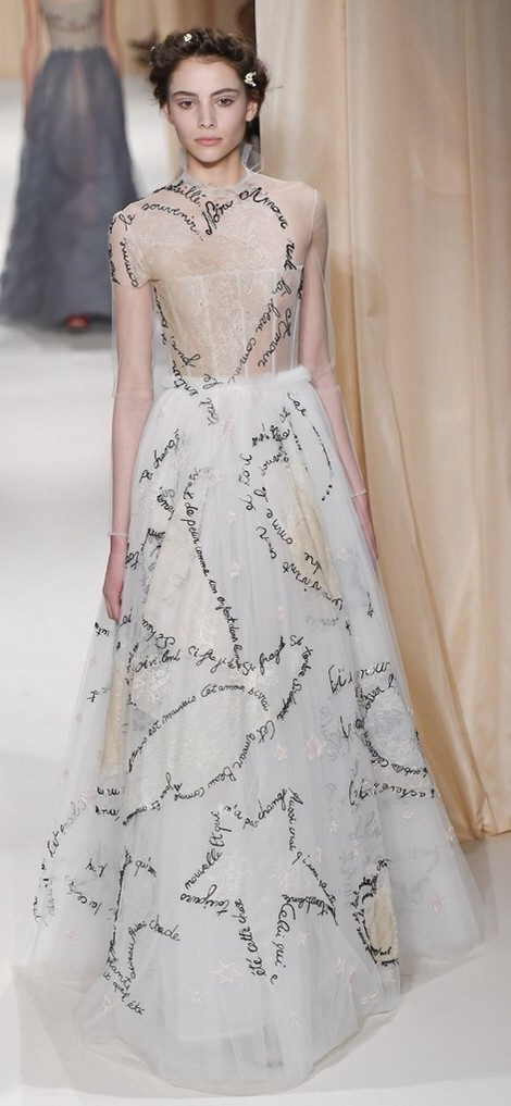 Valentino-SS16-White-Word-Dress-Gown