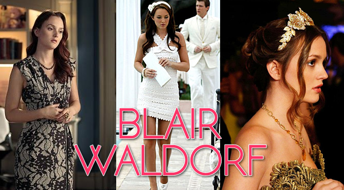 Copy Blair Waldorf's Exact Fashion Style from Gossip Girl