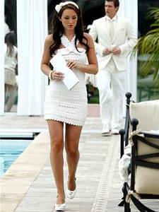 Blair-Waldorf-Gossip-Girl-Clothes-Dress-White-Party