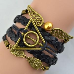 Harry Potter Snitch Deathly Hallows Bracelet