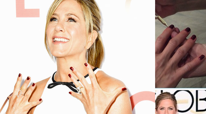 Breaking: Inside Jennifer Aniston's Nail Polish