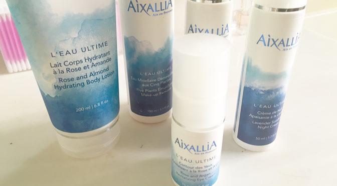 Aixallia skincare feature