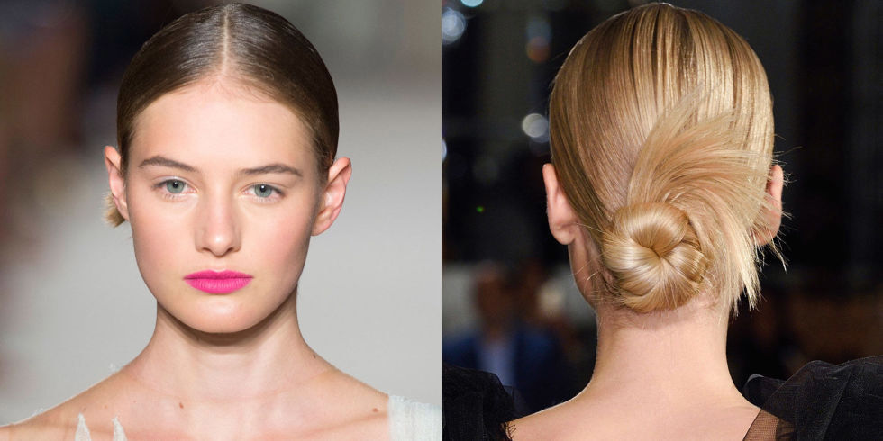 Low Twisted Bun Hairstyle Model