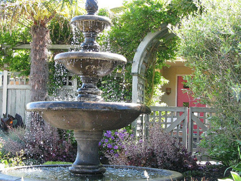 Style your backyard with fountains   Sassy Dove on Fountain Design Outdoor id=90792