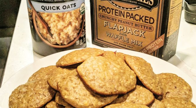 Healthy Cheating: Low Carb Proatmeal Cookies