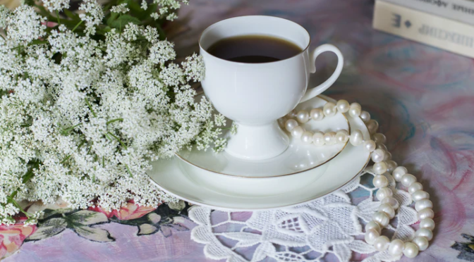 lovely tea mothers day flowera