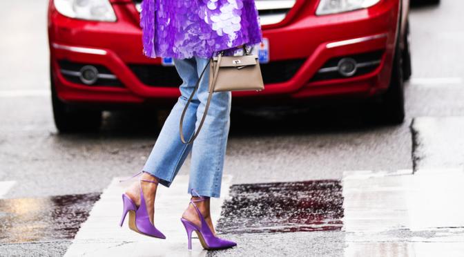 jeans heels car fashion