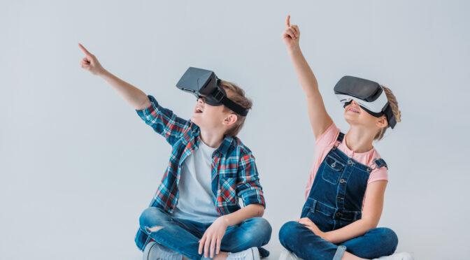 kids virtual headset
