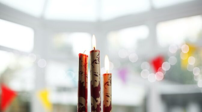 How to Up Your Candle Game with Candle Décor